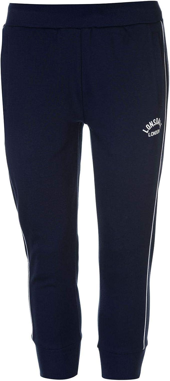 Lonsdale London Damen Leeds 3//4 Jogging Pants