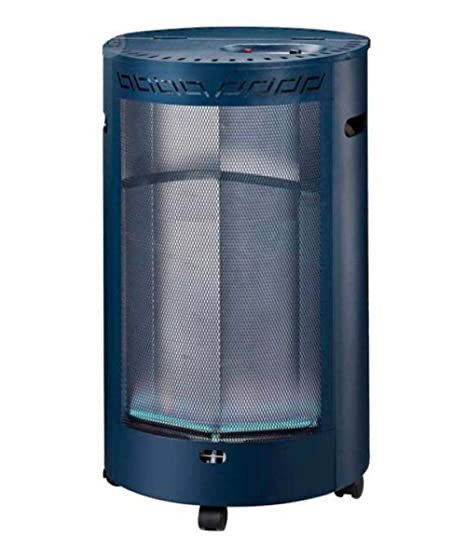 Estufa gas / butano llama azul Merca-blue doble seguridad