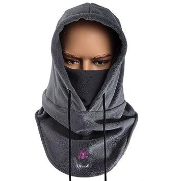 Máscara pasamontañas de polar, de cara completa, para invierno y