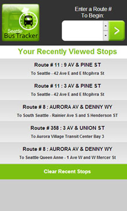 Amazon com: Seattle Bus Tracker: Appstore for Android