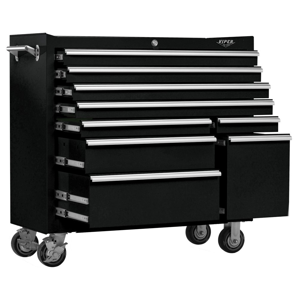 Nice Amazon.com: Viper Tool Storage V4109BLR 41 Inch 9 Drawer 18G Steel Rolling  Tool Cabinet, Black: Home Improvement