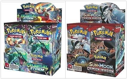 Amazon.com: Pokémon TCG - Caja de recuerdo de la tormenta ...