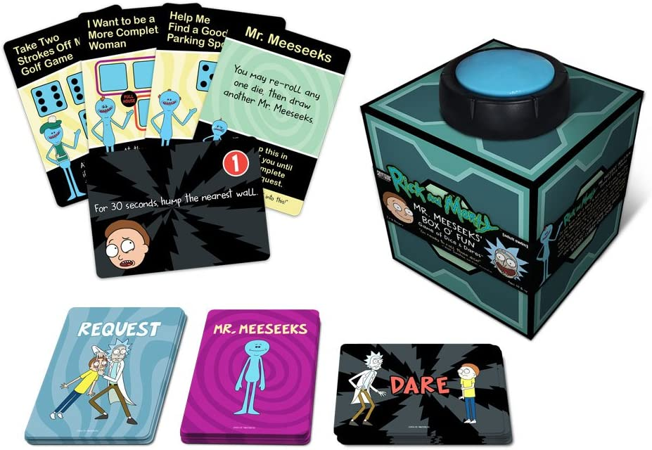 Mr. Meeseeks' Box O' Fun The Rick and Morty Dice Dares Game