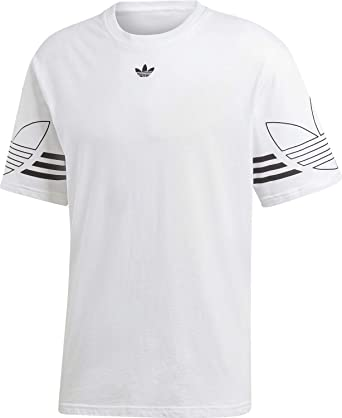 adidas Originals Outline Hommes T shirt blanc