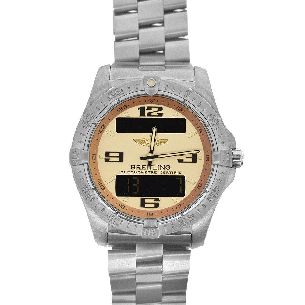 Breitling Aerospace quartz mens Watch E79362 (Certified Pre-owned)