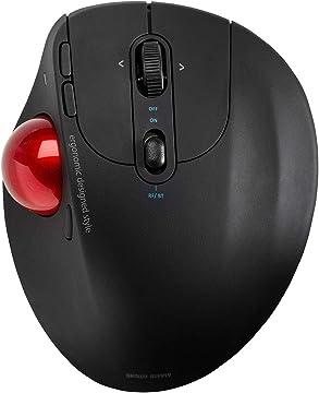 Amazon | サンワダイレクト トラックボールマウス Bluetooth /2.4GHz ワイヤレス 5ボタン チルト機能 400-MATB155 | サンワダイレクト | トラックボール 通販