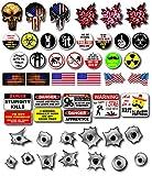 48 Pack of Crude Humor Hilarious Hard Hat Prank Decal Joke Sticker Funny Laugh Construction LOL