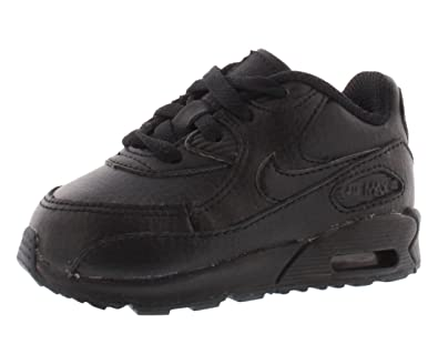 Nike (Td) Toddler Air Max 90 Casual Shoes, Black, 4.5 M Us