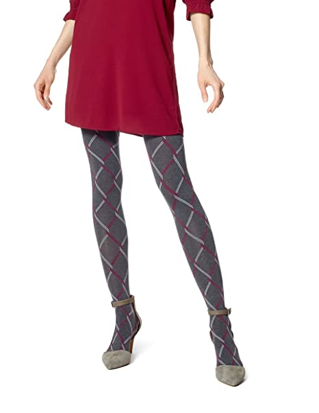 c2e6ab2381ca6 Hue Chain Link Tights (S/M, Graphite Heather) at Amazon Women's Clothing  store:
