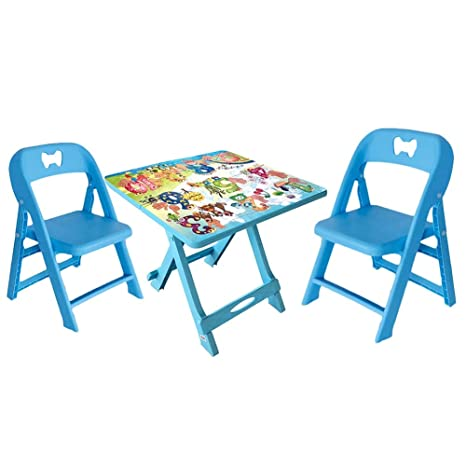 Admirable Liangjun Kids Toddler Tables Chairs Sets Portable Foldable Machost Co Dining Chair Design Ideas Machostcouk