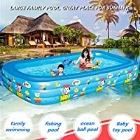 lucky coco Piscina Hinchable Banera Piscinas Inflable Piscina ...