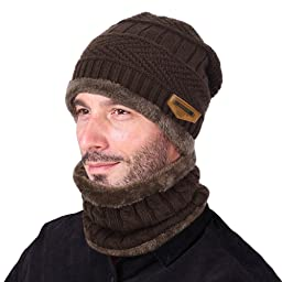 Awesome hat and neck warmer combo