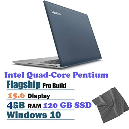 "2018 Lenovo ideaPad 320 15.6"" HD Laptop, Intel Pentium N4200 Quad-Core Processor"