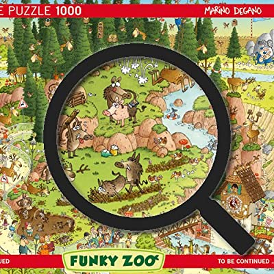 Heye Black Forest Habitat Puzzles (1000-Piece): Toys & Games