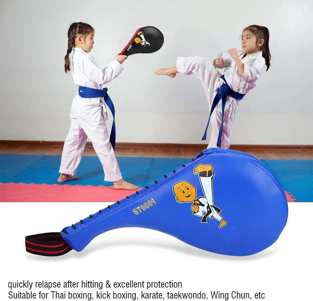 Bnineteenteam Taekwondo Kick Pads Target Ni/ños Boxeo Taekwondo Karate Kick Punching Training Target Suave PU Esponja Pad