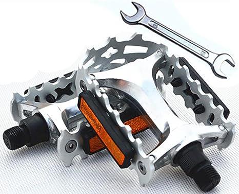 MIAO Aleación de aluminio antideslizante Mountain Bike Pedal ...