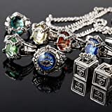 Cool Katekyo Hitman Reborn Vongola Deblocking Rings Set With 2 Caskets & Ring Necklace by PSK limited