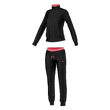 adidas Logo Suit - Chándal para Mujer, Color Negro/Rosa, Talla XS ...