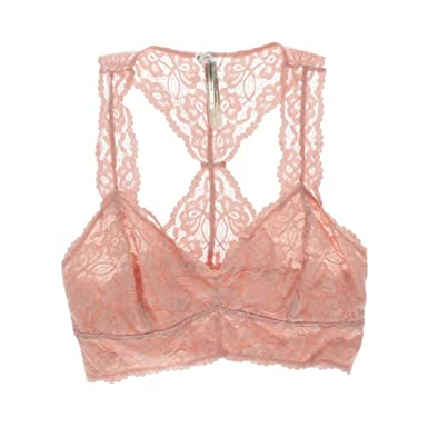 7b1b6cee877003 Intimately Free People Womens Cropped Scalloped Bralette Pink XS at Amazon  Women s Clothing store