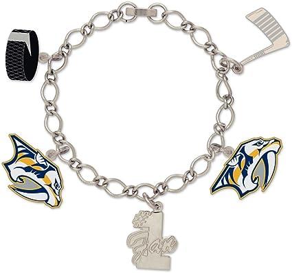 aminco NHL Nashville Predators Team Logo Pendant Necklace
