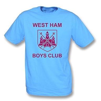TshirtGrill West Ham Jungen schlagen mit einer Keule, wie durch kleines  Morrissey-T-