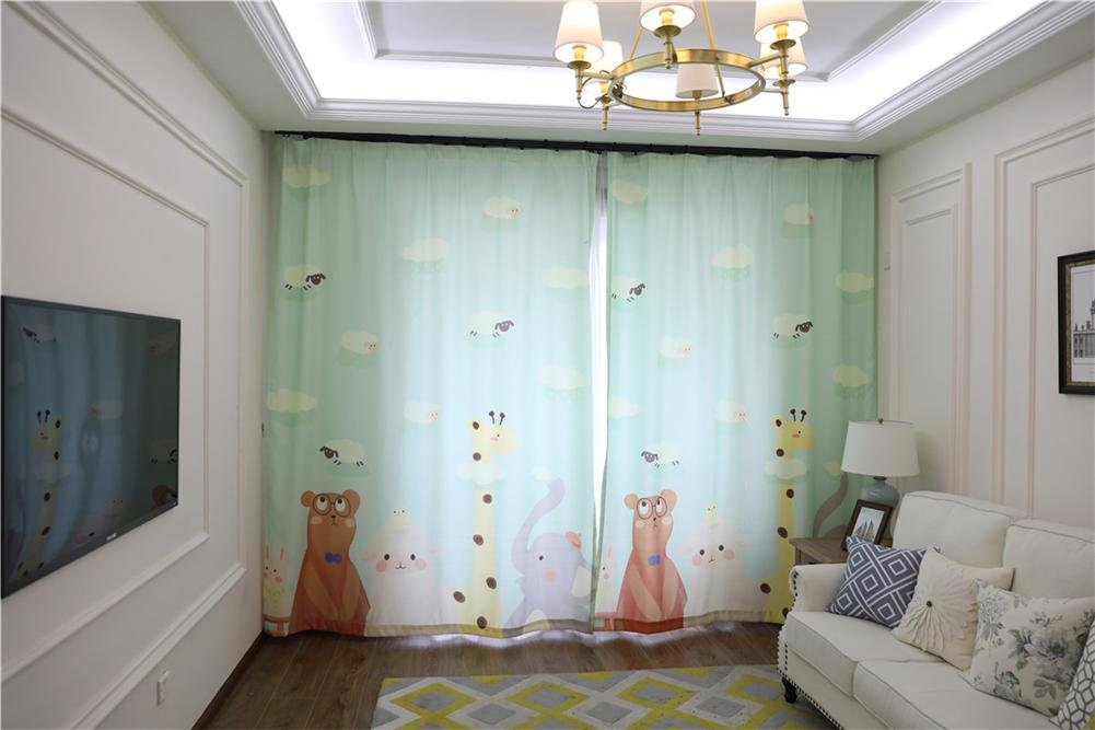 Tende Per Finestra Singola : Tende per bambini tende per tende per finestra per camera da letto