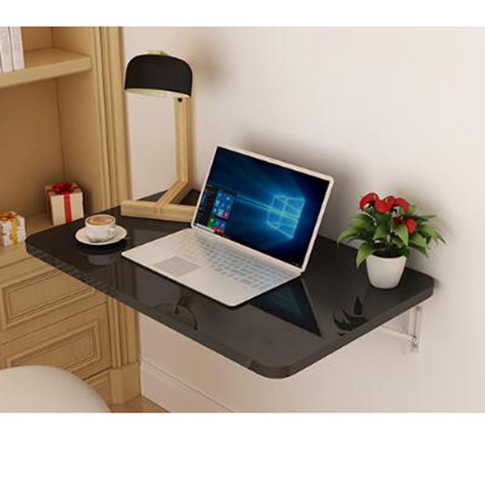 XIAOLIN ベークドペイント折りたたみテーブルウォールマウントテーブルダイニングテーブルウォールテーブルウォールマウントテーブルブックテーブルコンピュータデスクライティングテーブルオプションのサイズ (色 : 04, サイズ さいず : 80*40) B07D55RVL2 80*40|04 4 80*40