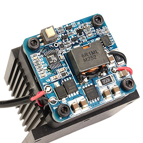 445nm 5500mW Blue Laser Module With Heat Sink For DIY Laser Engraver Machine by LEEPRA (Image #8)