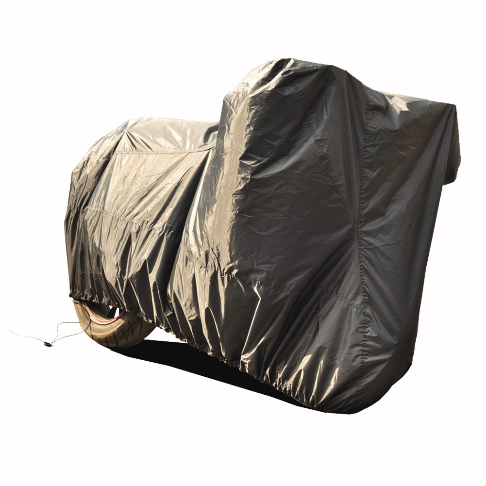 Kayme Waterproof Motorcycle Cover, Uv Rain Dust Sun Protection, Outdoor 50cc Scooter Cover Up To 96 Inch L