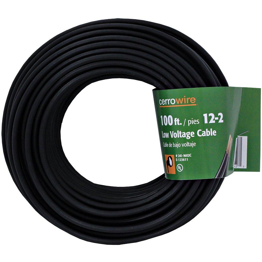 Cerrowire 241-1602C 100-Feet 12/2 Low Voltage Underground ...