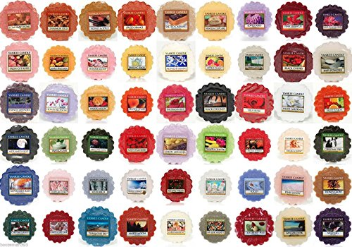 Yankee Candle Wax Tarts - Grab Bag of 10 Assorted Yankee Can