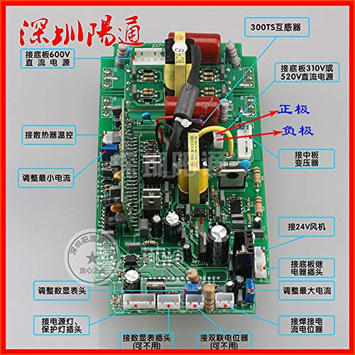 Lysee Dual power DC welding machine circuit board accessories double voltage ZX7-250S 315S inverter board motherboard - (Color: Non tube)