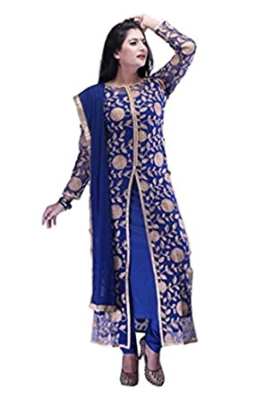 Amazon.com: Salwar Kameez for Women Readymade, Size Large: Clothing