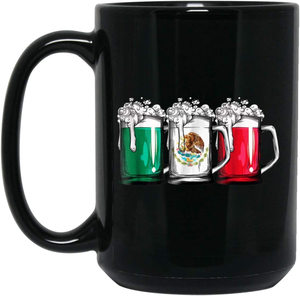 Gift Birthday Flag Tea Cup Christmas Coffee Mug Mexico Mexican