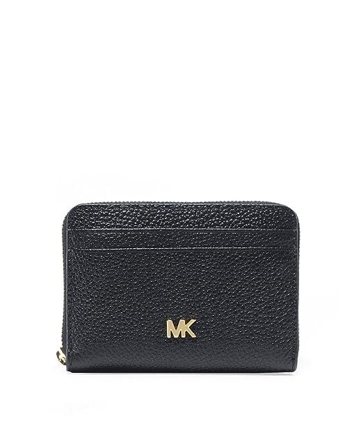 MICHAEL Michael Kors Donna portafoglio in pelle piccolo ciottoli Nero Unica  Taglia  Amazon.it  Abbigliamento 3cc990b6d98