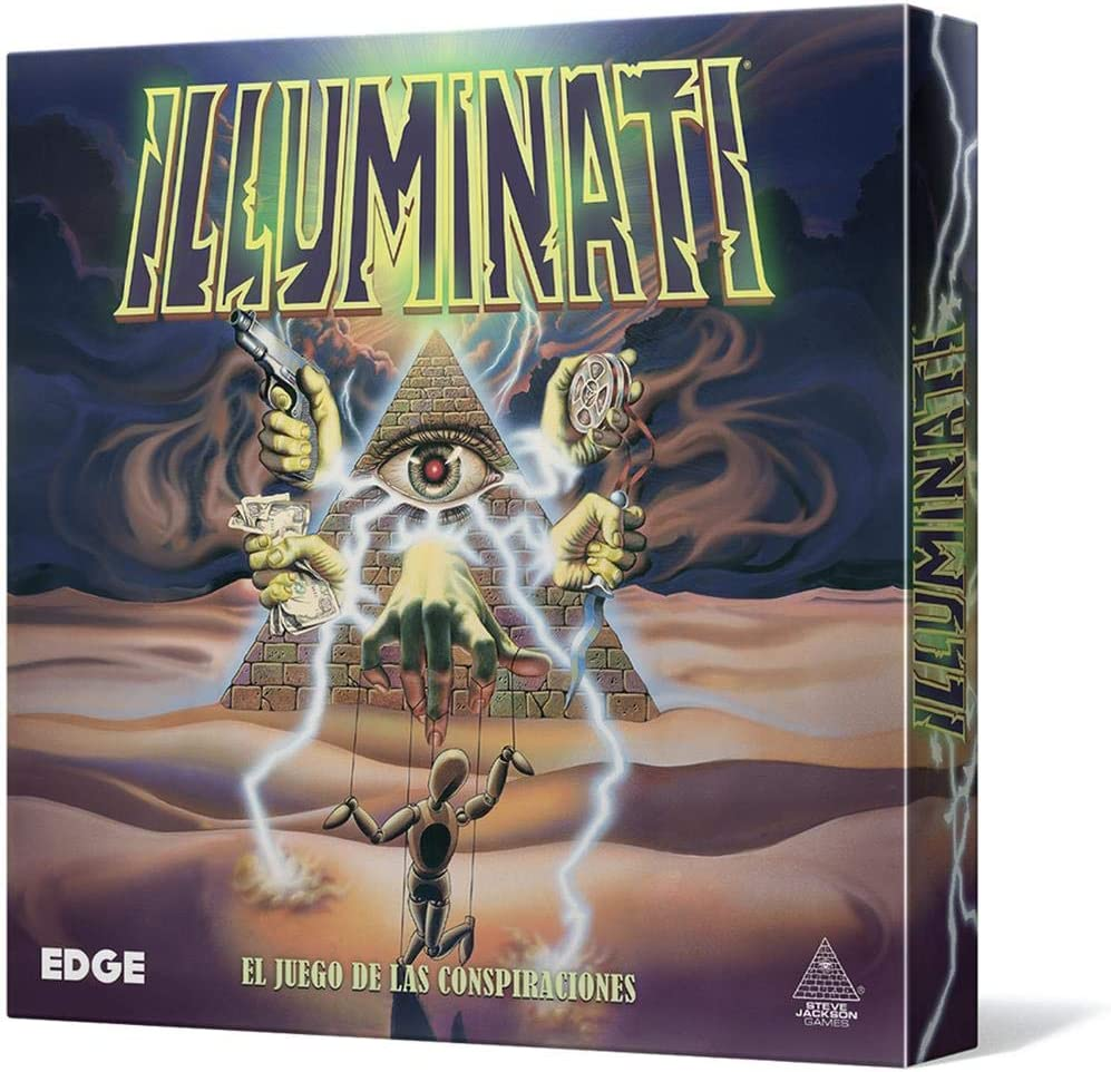 Edge Entertainment - Illuminati, Juego de Cartas (EDGIL01): Amazon.es: Juguetes y juegos