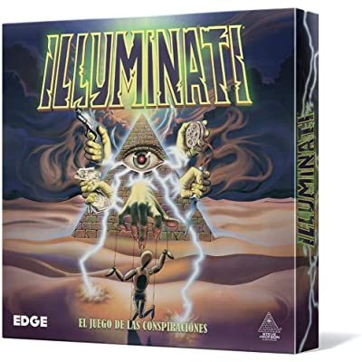 Edge Entertainment - Illuminati, Juego de Cartas (EDGIL01)