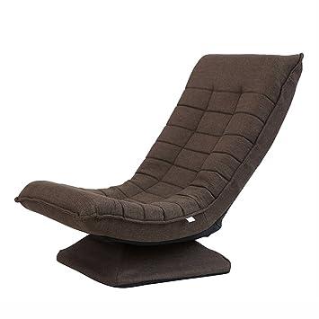 Lounger Canapé Chaise Chambre Petit Appartement Simple Balcon Salon  Restaurant Loisirs Tissu Moderne Minimaliste (Couleur