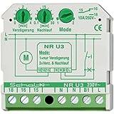Schalk Nachlaufrelais UP mit NR U3 230V AC Einschaltverzögerung Zeitrelais Installationstechnik für Reiheneinbau 4046929801089