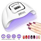 UV Gel Nail Lamp,80W Nail Dryer LED UV Light for