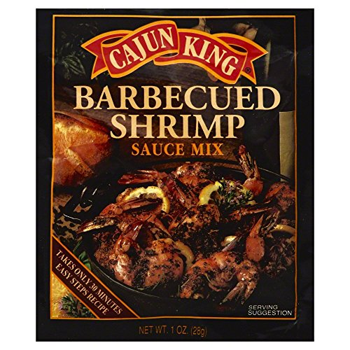 Cajun King Sauce BBQ Shrimp 1.0 OZ (Pack of - Kings Bbq Sauce