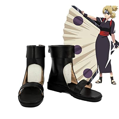 NARUTO Shippuden Temari Cosplay Shoes Boots Custom Made 2