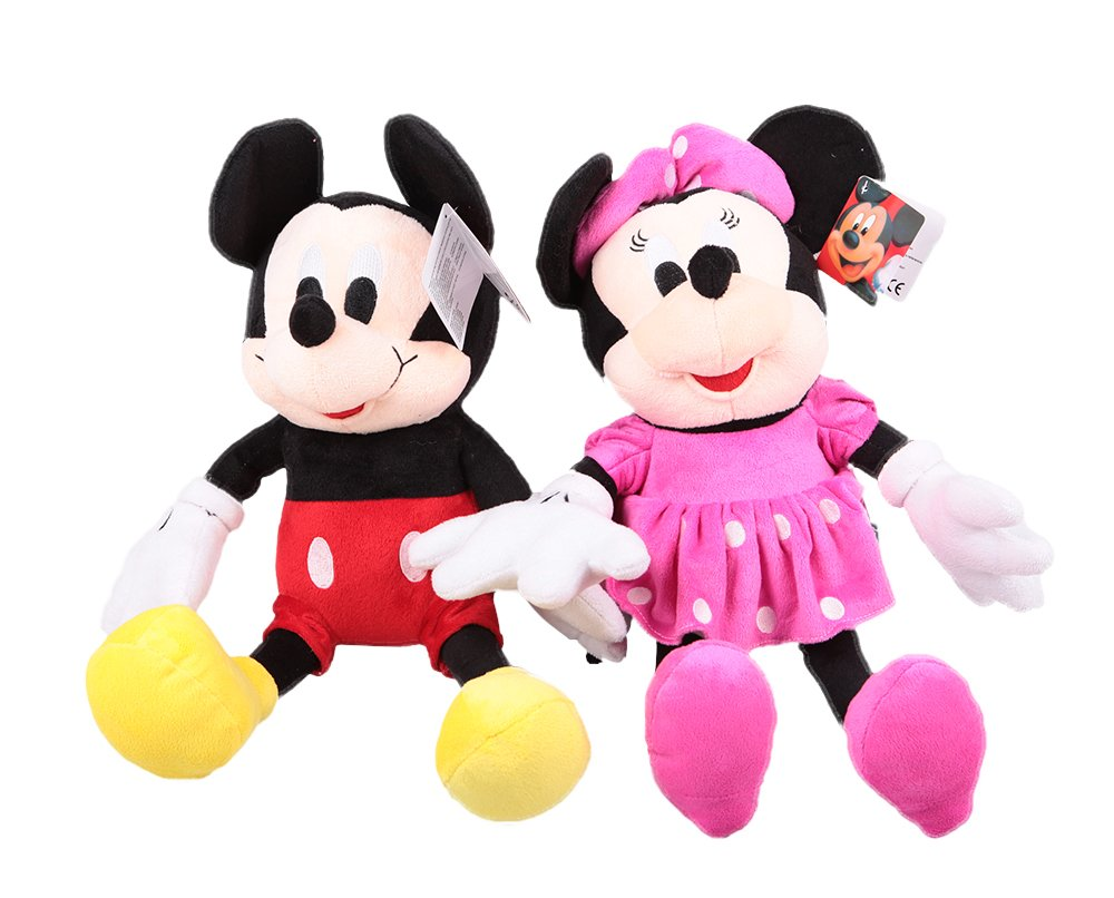 Big Size 70cm 27inch Mickey and Minnie Mouse Set Plush Stuffed Toys Factory Price Ltd.