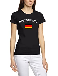 Camiseta de manga corta para mujer, diseño Mundial de Fútbol 2014 (tallas: S M L