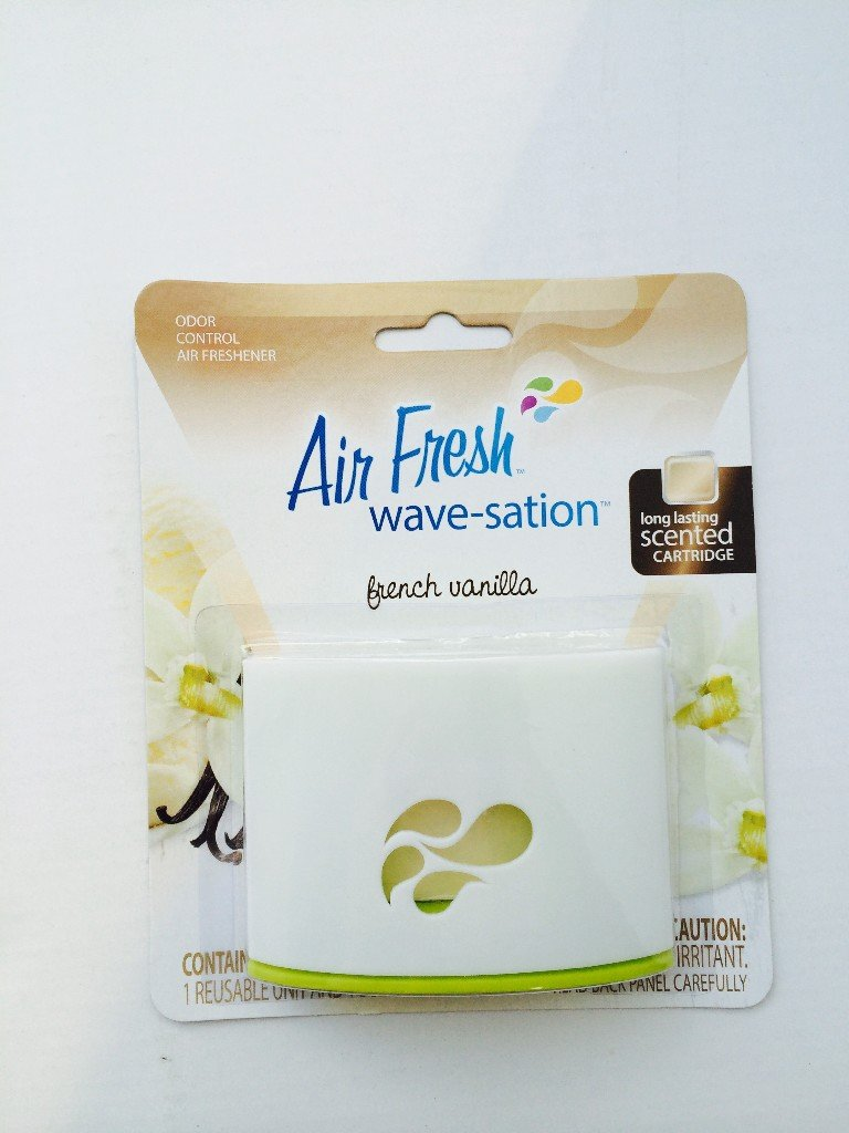 Air Fresh Wave-Satin French Vanilla Case Pack 72 , Automotive, tool & industrial , Office maintenance, janitorial & lunchroom , Cleaning supplies , Air fresheners