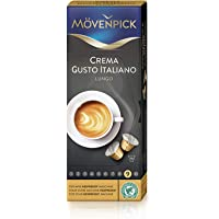 Movenpick Crema Gusto Italiano Lungo- 10 Capsules