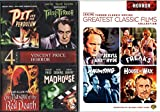 Cult Horror Classic 8-Movie Collection -Pit & the Pendulum / Tales of Terror / The Masque of Red Death / Madhouse / Dr. Jeckyl & Mr. Hyde / Freaks / The Haunting / House of Wax Bundle