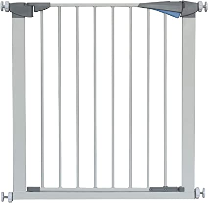 Lascal KiddyGuard Avant Roller Blind Style Baby Child Safety Stair Gate White