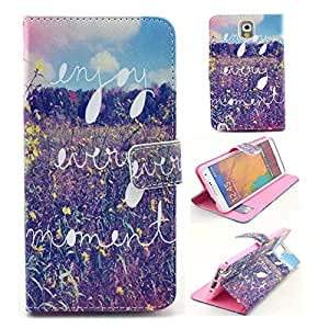 Galaxy Note 3 Cases,Note 3 Case,Creativecase fashion Pattern Wallet PU Leather Case Flip Cover Case Built-in Card Slots & Stand Protector Case for Samsung Galaxy Note 3 N9000-09