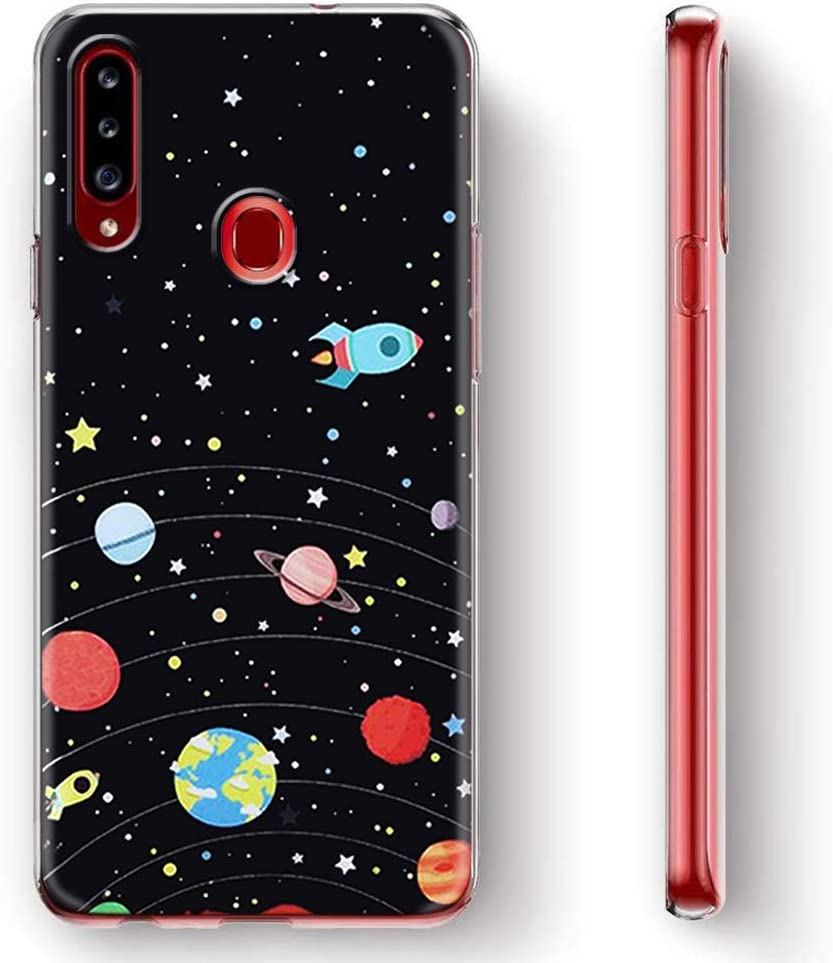 A11x Yoedge Phone Case Designed for OPPO A5 Clear Silicone Shockproof TPU Transparent with Print Cartoon Pattern Anti-Scratch Bumper Back Cover for OPPO A5 A9 2020 02 A9 2020 A11x